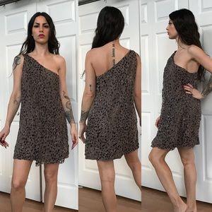 Max studio silk earthtone greek Goddess dress 🖤